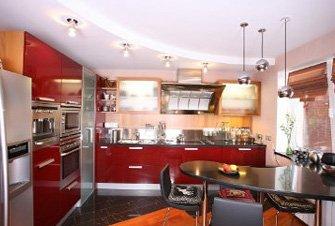 איך מחלקים תאורה במטבח